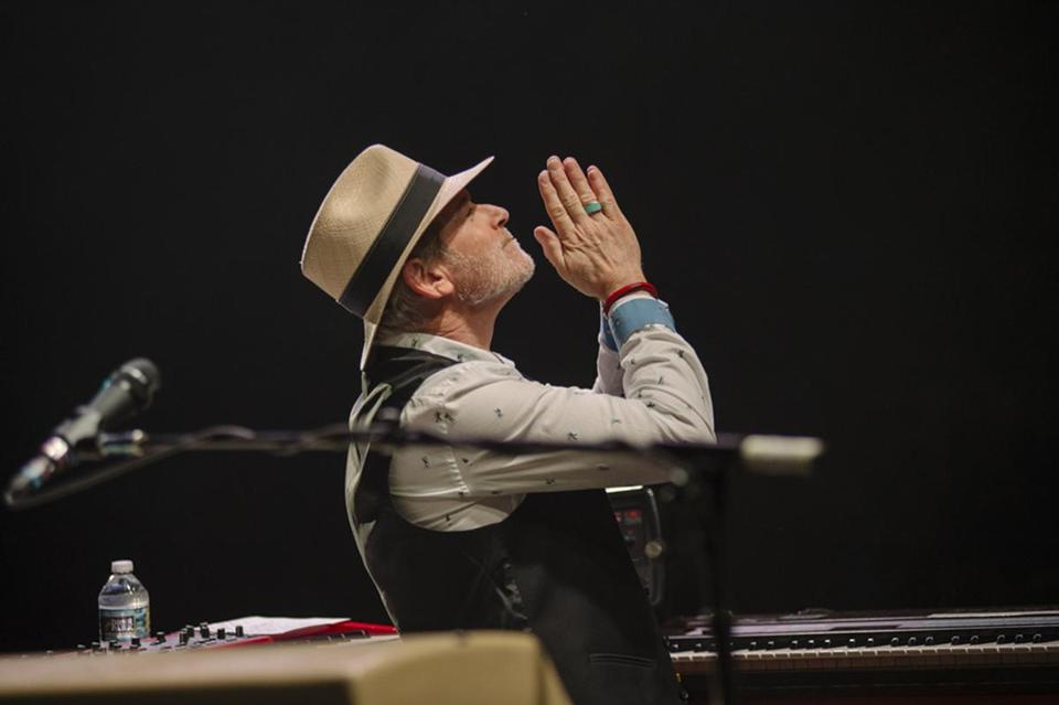 Heartbreakers keyboardist Benmont Tench was a student at Phillips Exeter Academy and saw Led Zeppelin at the Boston Garden when he was a teenager.